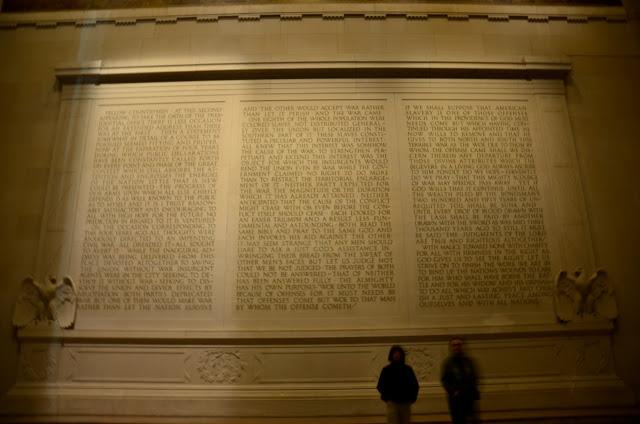 lincoln memorial inscription