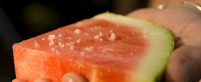 sea salted watermelon
