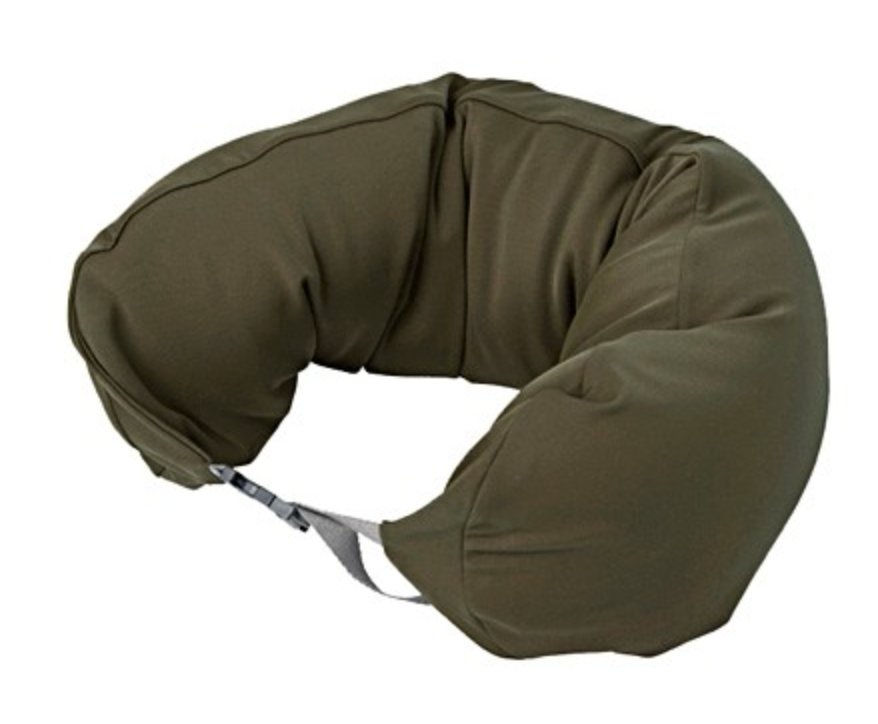Muji travel pillow