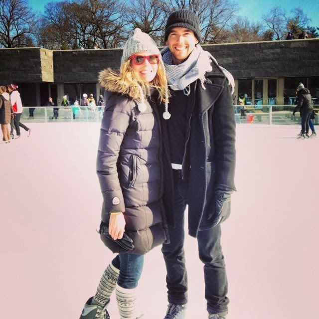 Iceskating at Prospect Park